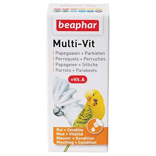 Beaphar Bogena Parrot Multi-vit 20ml multi vitamin caged bird food supplement