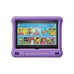 Das neue Fire HD 8 Kids Edition-Tablet, 8-Zoll-HD-Display, 32 GB, violette kindgerechte Hülle