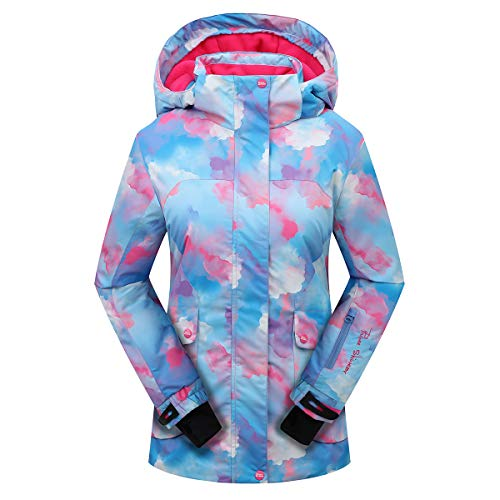 colorful snowboarding jacket for teen girls