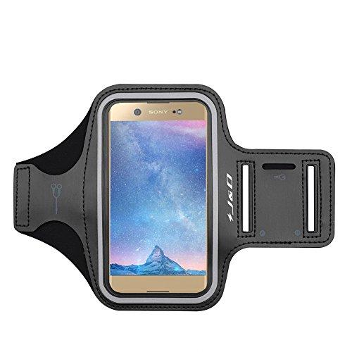 J&D Compatible para Sony Xperia 5/XA1 Ultra/XA2 Ultra/Xperia 10 Plus/Nubia Z20/Realme 6/Realme 6 Pro/Realme X50 Pro 5G Brazalete Deportivo para Correr, Ranura para Llaves, Conexión con Auriculares