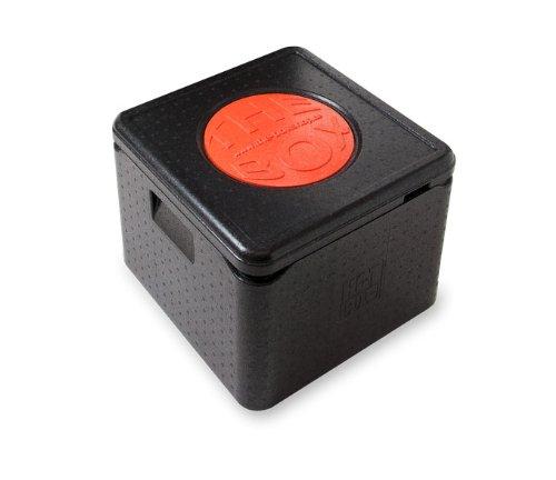 THE BOX EPP Thermobox Pizza 41 x 41 x 33 cm Isolierbox Pizzabox Kühlbox Art. 79772 NEU