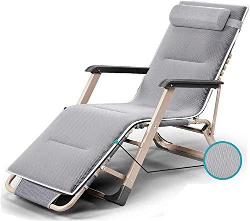 Iyom Silla reclinable al Aire Libre Zero Gravity Tumbona reclinable Silla de relajación Ajustable Plegable para Patio al Aire Libre Playa Piscina Terraza Tumbona Jardín Tumbona Tumbona