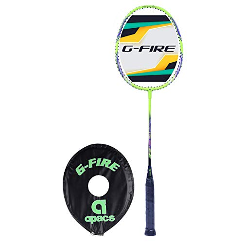 Apacs Strung Badminton Racquet with Head Cover