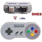 Manette sans Fil pour Nintendo Super NES Classic Mini,TT Globle 2.4GHz Contrôleur...