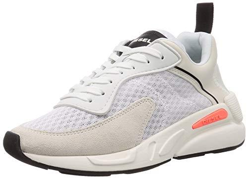 Diesel Womens S-Serendipity LO Sneaker, H7827 Star White/Vaporous Gray, 35.5 EU