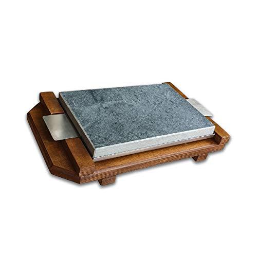 Piedra para Carne de20x30 cm Modelo Rustic Roble CT