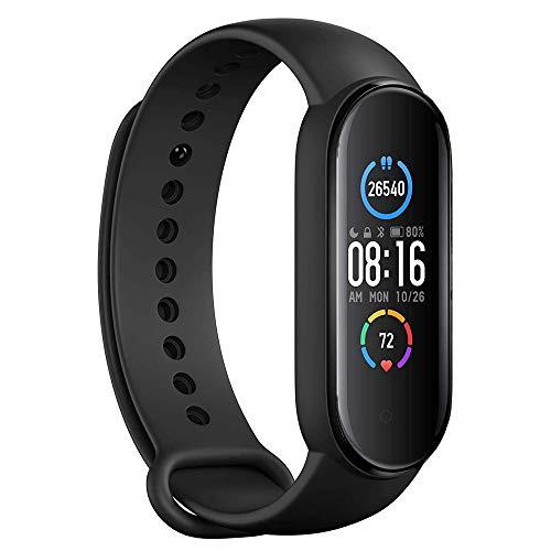 Reloj inteligente de fitness con monitor , resistente al agua IP67 con monitor de frecuencia cardiaca y sueño, contador de calorías con monitor de presión arterial para hombres y mujeres