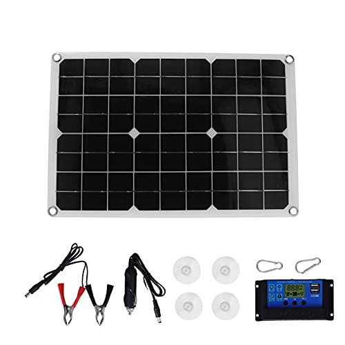 Garosa 20W 18V USB-Solarpanel-Kit mit...