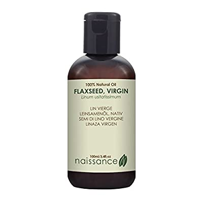 Naissance Virgin Flaxseed Oil (Linseed) 100ml 100% Pure