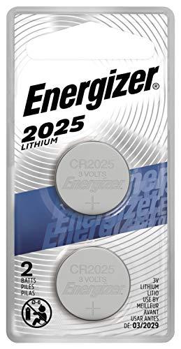 Energizer 3V Battery, Lithium, (Pack of 2)