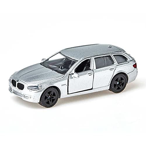 SIKU 1459, BMW 520i Touring, Metallo/Plastica, Blu, Portiere Apribili, Auto Giocattolo per Bambini