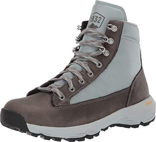 "Danner Women's 65717 Explorer 650 5"" Waterproof Hiking Boot, Gray/Atlantic Blue - 6M"