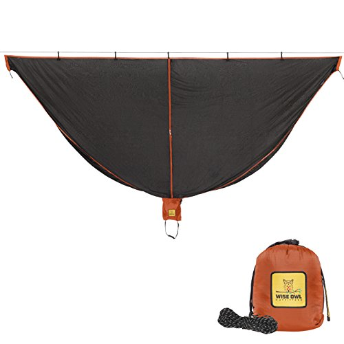 Hammock Bug Net - SnugNet by Wise Owl Outfitters - The Perfect Mesh Netting Keeps No-See-Ums,...