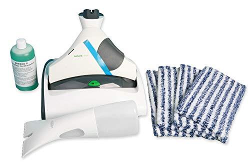 Vorwerk SP 530 Saugwischer Wischsauger Hartbodenreiniger Nassreiniger Komplettset Vorführgerät mit 4 Reinigungstüchern, Dosierflasche und Reinigungskonzentrat
