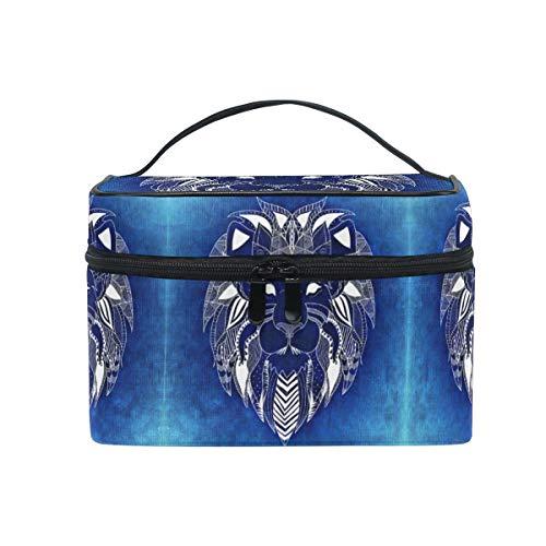 Blue Lion Trousse Sac de Maquillage Toilette Cas Voyage Sac Organisateur Cosmétique Boîtes pour Les Femmes Filles