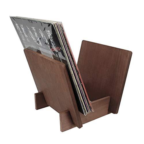 Nai-storage contenitore in legno per esposizione dei dischi in vinile (capienza 25 dischi)