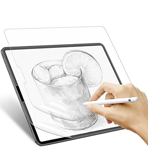 IVSO Kompatibel mit iPad Pro 11 2021/Air 4 2020 Like Paper Matte Schutzfolie, Zeichnen & Skizzieren Like wie auf Papier mit Apple Pencil, (Nicht Panzerglas), 2 Stück