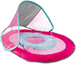 SwimWays Baby Spring Float w/ Canopy - Pink