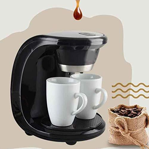 2 tazas Cafetera de goteo Cafetera eléctrica automática de 500 W para café exprés a vapor