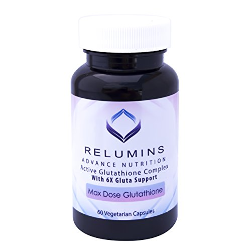 3 Bottles of Relumins Advance White Active Glutathione Complex -Oral Whitening Formula Capsules with 6X Boosters- Whitens, Repairs & Rejuvenates Skin