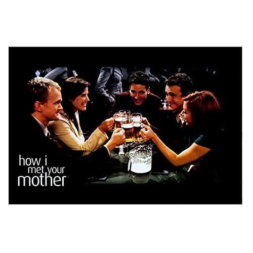 Posters Cómo conocí a Vuestra Madre, póster de la Serie de televisión, decoración artística, póster, Lienzo para decoración de...