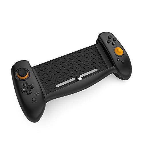 Zero starting point Manette Jeu Portable, Wireless Manette du Bluetooth, Controleur De Jeu Mobile, Gamepad Controller pour Switch, Arcade Classique, Adaptateur Bluetooth Transmetteur,Noir
