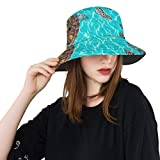 Girl Sun Hat Riviera Maya Turtles Photomount On Caribbean Summer Unisex Fishing Sun Top Bucket Hats For Teens Women Fisherman Cap Outdoor Sport Male Sun Hat