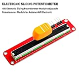 10K Electronic Sliding Potentiometer Module Arduino electronic building blocks Sliding potentiometer module