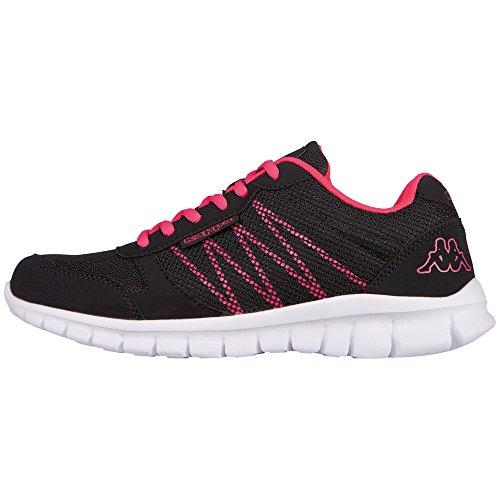 Kappa Damskie buty typu sneakers Stay, czarny - Czarny 1122 Black Pink - 38 EU