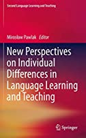 New Perspectives on Individual Differences in Language Learning and Teaching (Second Language Learning and Teaching)