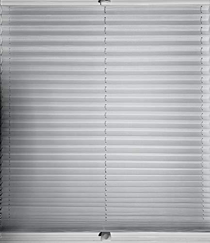 sun collection Plissee Faltrollo exklusiv lichtdurchlässig und Blickdicht 4 Verschiedene Profilfarben
