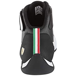 PUMA Women's Sky ii hi Streetwear WN's Basketball Shoe, Black/Porcelain, 5.5 M US