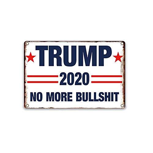 YOMIA Trump 2020 Yard Schild Make America Great Again, Trump, 30 x 20 cm 5 Style