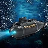 Yatter Barco De Control Remoto, Smart Submarine Boat Elctrico, Submarines Ship RC Boats Toy para Nios para Piscinas Y Baos De Lagos, Water Fun Toy (4.80x1.30x1.81inch) Sweet