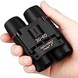Binocolo per Adulti Bambini 30 X 60 Pieghevole Compatto Telescopio Visione Notturna...
