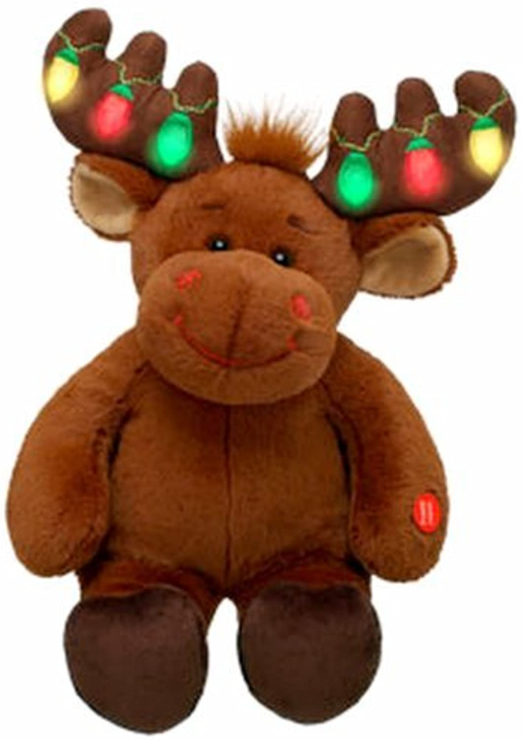 Build A Bear Hal 17 Plush Christmas Moose by Build A Bear