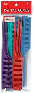 Annie Rat Tail Comb Set, 12 Count