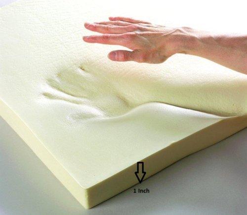 High Density Memory Foam, Grade Replacement Foam Mattress Topper Cot Junior Kids Bed Choose from ((120 x 60 x 2.5CM/47