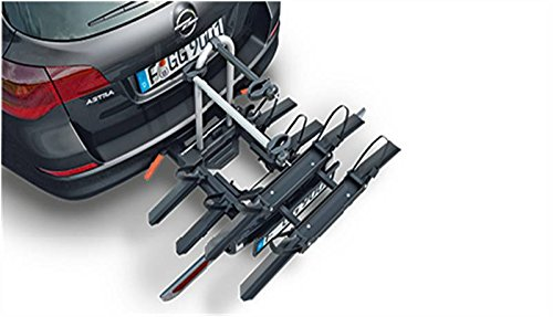 Original Opel Flexfix Anhängerkupplung montiert Bike Carrier System Adapter 2Fahrräder