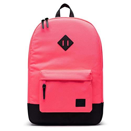 Herschel Heritage Rucksack, Neon Pink/Schwarz (Pink) - null.list