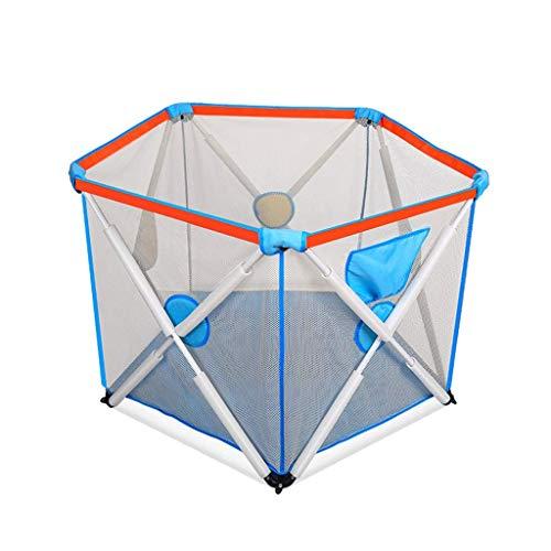 AWJ Kinder Indoor Outdoor Sicherheitsspiel Laufstall Zaun Kinderspiel Faltzaun Bunter Ball