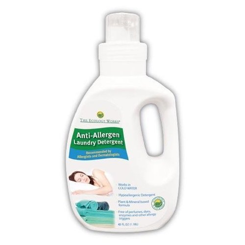 The Ecology Works Anti Allergen Solution Laundry Detergent, 40 oz.