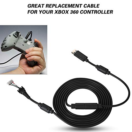 ASHATA Cable de Mando de 5 Pines, Cable de Repuesto USB, para...