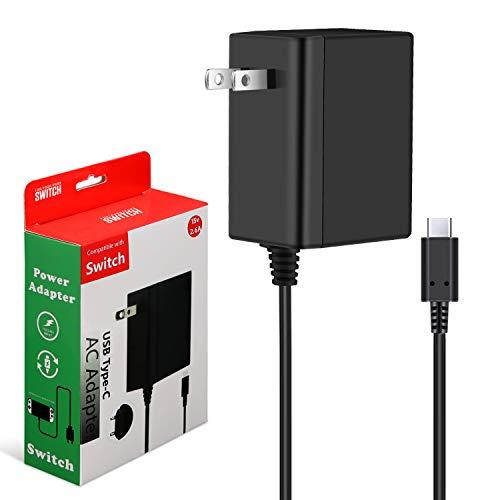 Switch ACアダプター 充電器 PD規格 急速充電 TVモード対応 USB Type-C PSE認証済み Switch&Switch Lite対応