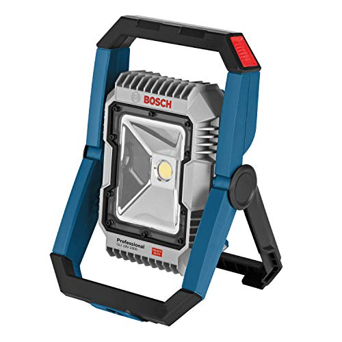 Bosch Professional 18V System GLI 18V-1900 cordless LED construction site floodlight (max. brightness level of 1900 lumens, excluding rechargeable batteries and charger, in cardboard box)