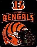 Northwest NFL Cincinnati Bengals Throw Plush Blanket