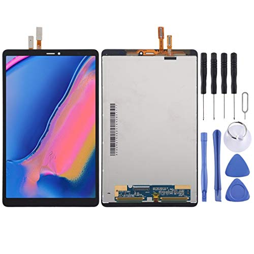 NIHAOA / Pantalla LCD y Montaje Completo de digitalizador para Galaxy Tab A 8.0 & S Pen (2019) SM-P205 LTE Version (Color : Black)