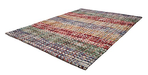 Obsession Teppiche, Gefilzte Wollstreifen, Multi, 200 x 290 cm
