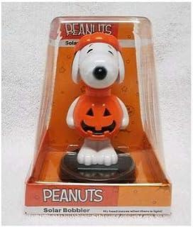 Peanuts Snoopy Halloween Solar Bobbler 4.25