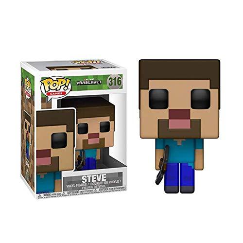 Luck7DZ Pop Juegos Paisaje de la decoración Exquisita Steve Minecraft y Figura Coleccionable